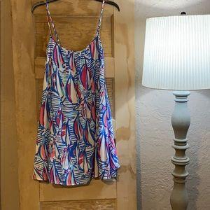 Lilly Pulitzer Swing Dress Size XS regatta